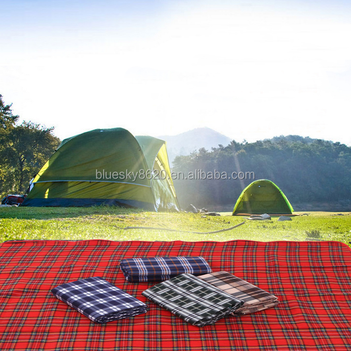 Custom foldable picnic blanket foldable picnic mat outdoor folding camping mat