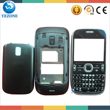 Wholesale replacement mobile phone Cover for NOKIA Asha 302 Full Housing,Housing case+Keypad For Nokia 302 3020 Cell Phone Parts
