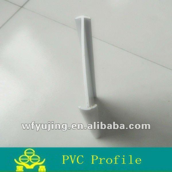 Plastic PVC Soft And Hard Profile For Coupling