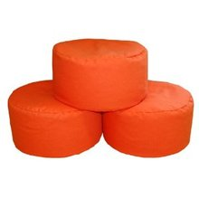 Inflatable Pouf Ottoman and Outdoor Footstool