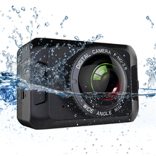 2019 New Tech 2.35 Inch Large Touch panel 4k Wifi IP68 Waterproof Action Sport Cam Camera For Diving