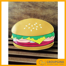 Wholesale New Design Unique Fashion Hamburger Design Sling Bag