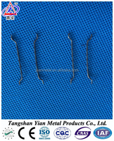 steel fiber for concrete, loose hooked ends fiber compling with ASTM A820 standards
