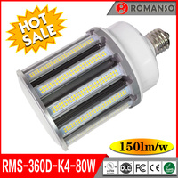 China Factory New Bright Ul Dlc 80 Watt 100 Watt 120 Watt Led Corn Bulb Light Lamp