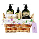 Wholesale luxurious bath and skin works product spa washing gift set with body lotion