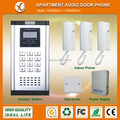 Apartment door bell for access control