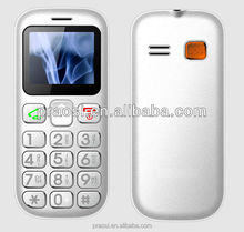 Custom logo made cheap feature cell phone senior mobile phone with flashlight