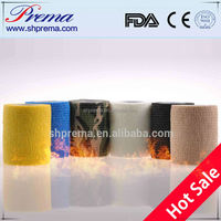 FDA/CE/ISO approved elastic ratio 2.2:1 bandage packing material