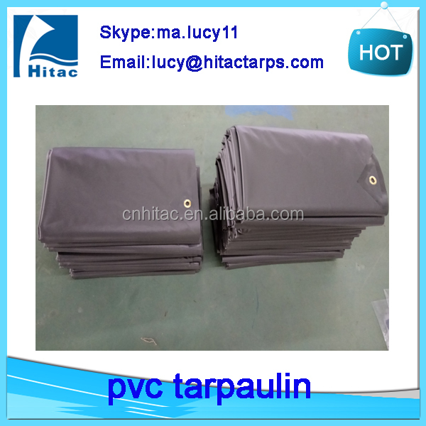 500d 1000d 18oz waterproof fire retardant pvc vinyl fabric tarp tarpaulin with cheap price