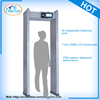 VW-800D 45 zones cheap public security high sensitivity portable walk through metal detector