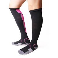 Custom Colorful Sock Knee breathable Fancy Basketball Compression Sports Socks