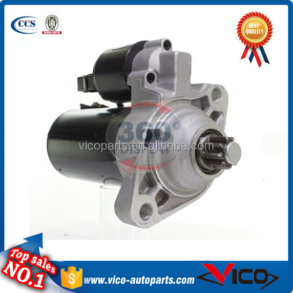 Volkswagen New Beetle Starter With Top Quality,0001125040,02A-911-023S,02A-911-024E