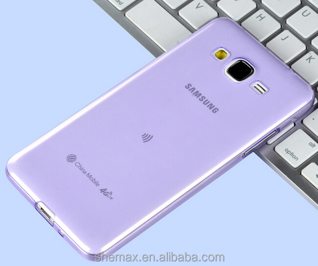 China Supplier Crystal Ultra Slim Clear Soft TPU Cover Case For Samsung Galaxy Ace NXT SM-G313HZ