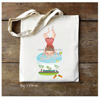 2014 best selling high quality handmade cotton fabric shopping bag