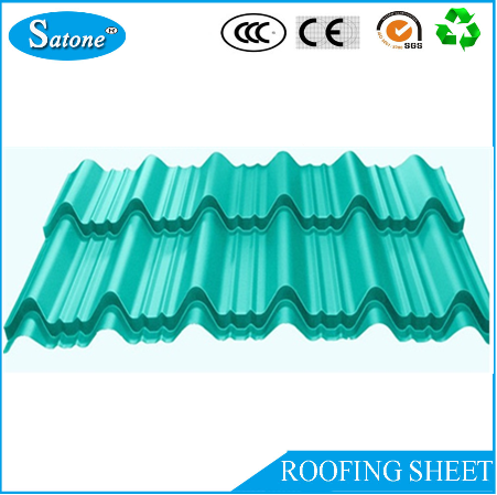 Construction material corrugated color metal iron roof tile sheet for house roof with low price