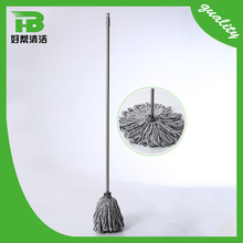 Promotional xt-3017 round microfiber flat mop for household cleaning