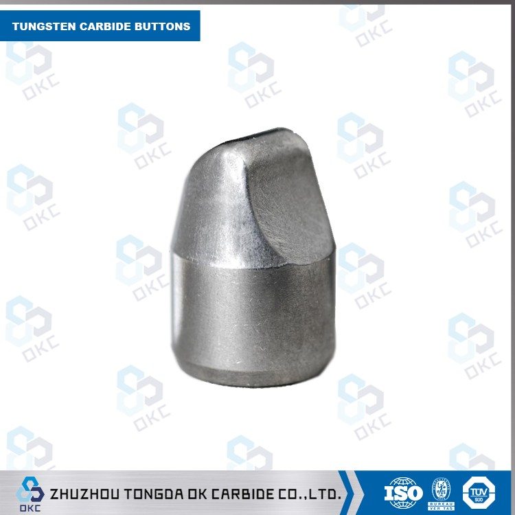 stock 100% fresh raw material YG6/<strong>K10</strong> OD16*21mm <strong>tungsten</strong> <strong>carbide</strong> button