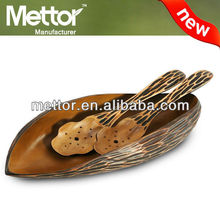 Mettor high quality unique tableware,mango wood tableware