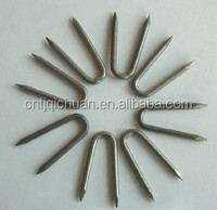 U Fence Staple/ U Shaped Nail China Supplies