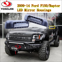 best product to import!1pair car front mirror cover for 2009-2014 F ord F150/Raptor