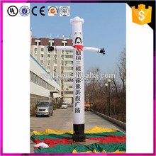 One leg inflatable air dancer with logo and slogan for outdoor advertising