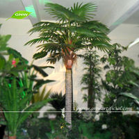 GNW APM037 Imitation Decorative Artificial Palm Trees used in indoor&outdoor landscaping decorations