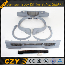 Smart Fortwo PU Bumper Body Kit for Mercedes BEN Z Smart Fortwo 09-13