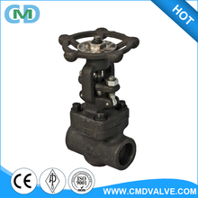ANSI B 16.10 A105 Class 800 SW End Forged Globe Valve with price