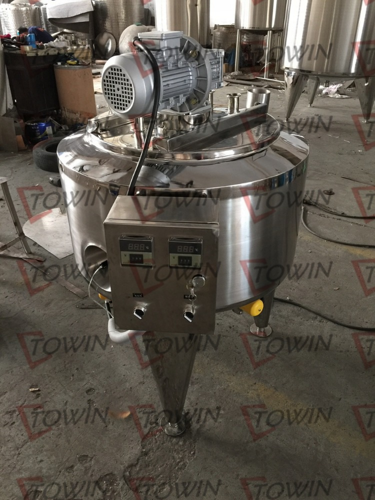 100L/200L Custom batch pasteurizer for milk/ yogurt / cheese / cream / tomato sauce / chilli paste pasteurizer for sale