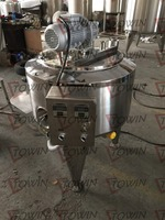 200L batch pasteurizer for milk/ yogurt / cheese / cream / tomato sauce / chilli paste pasteurizer for sale