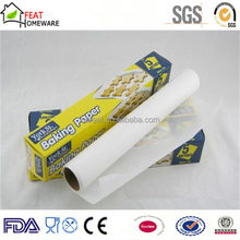 Hot sale cheap silicone coated food baking paper
