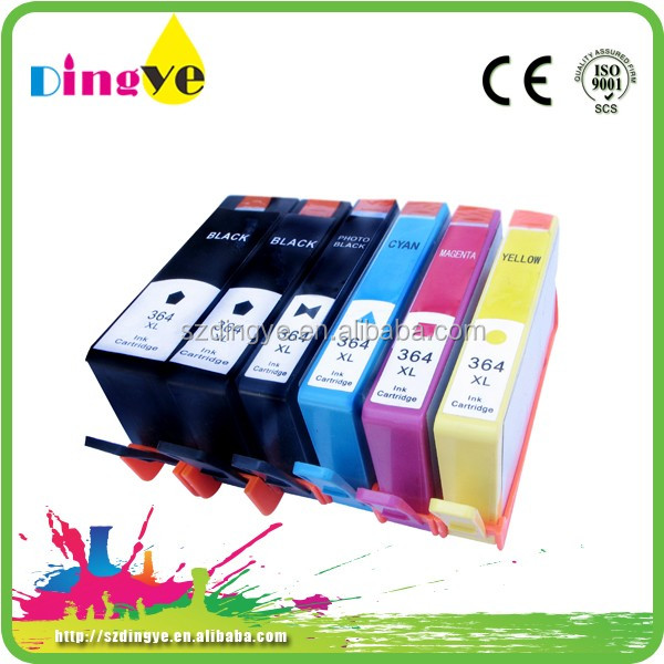 Compatible ink cartridge for hp 364XL with Apex chip