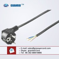 male schuko plug, euro power cord, female schuko plug