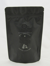 EU Quality Stand Up Zipper Valve Coffee Packaging Bag