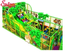Good price jungle gym theme kids plastic playground