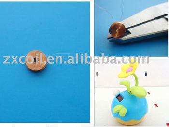 air coil & inductor &solar coil & toy coil