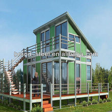 Energy and land saving soundproof and heatproof container coffee shop
