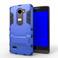 For LG Leon C40 case, High quality shockproof Kickstand Hybrid Dual Layer Armor Defender cover case for LG Leon C40