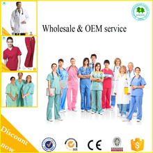 HS0017 factory wholesale high quality doctor nurse clothes with OEM
