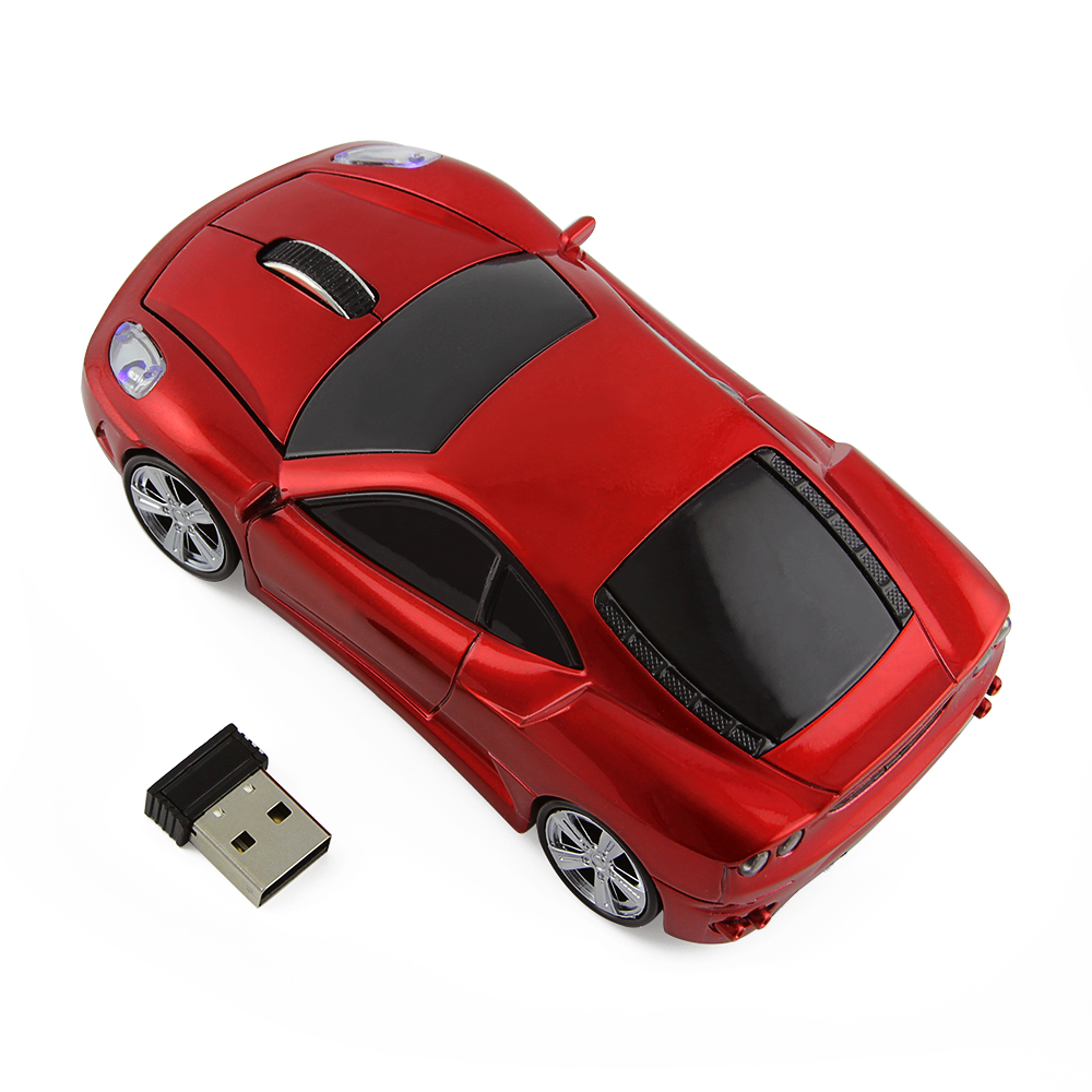OEM Led Car Light Game Mice Gaming Mause Wireless 3D Car Mouse Inalambrico for PC Gamer