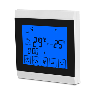 Touch Screen Thermostat For HVAC System