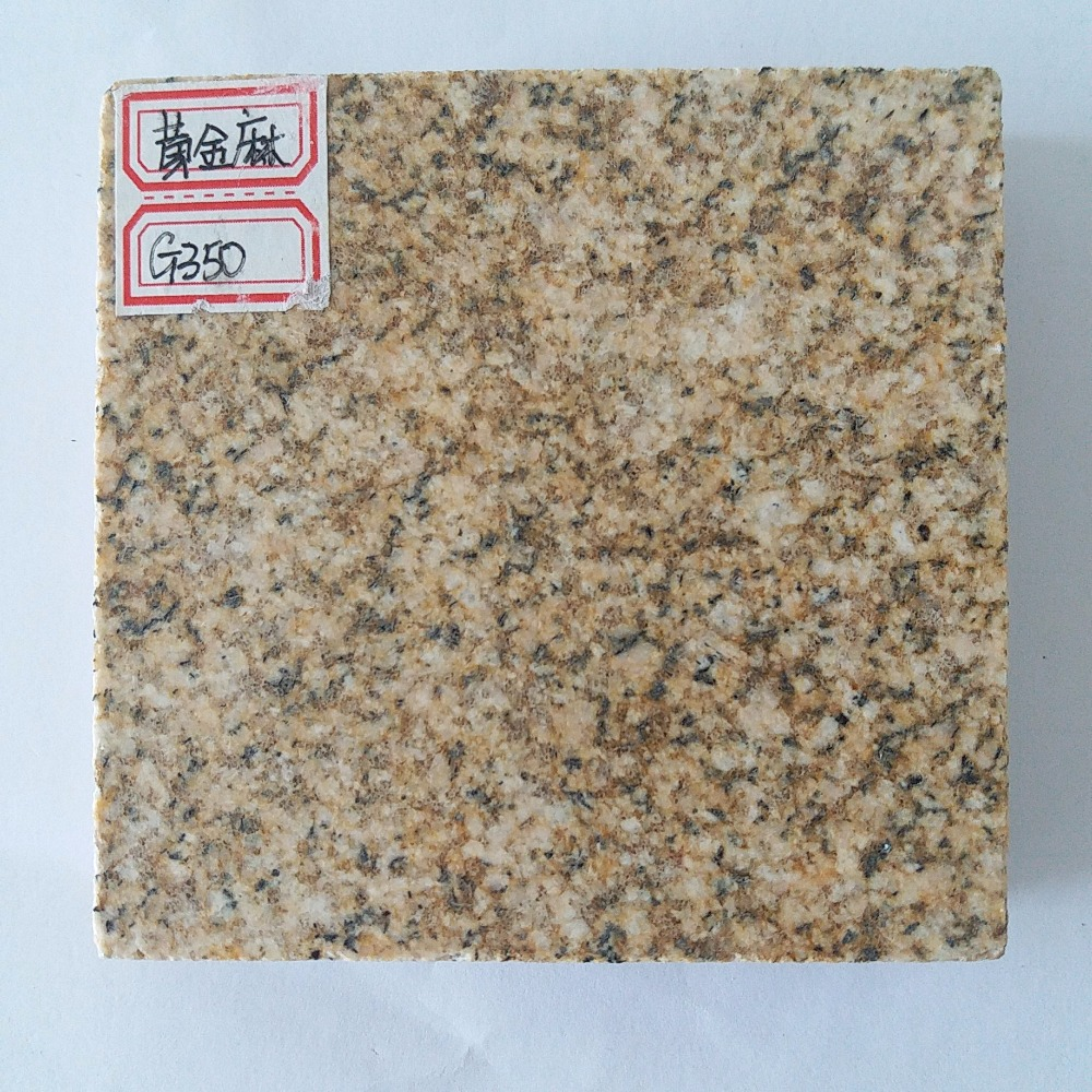 Shandong Yellow G350 Granite/Golden Sesame Granite from China for hot sales,Flamed and Polished for finished
