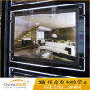 High quality advertising LED crystal frame slim light box led light picture frame a3 a4 real estate led light box