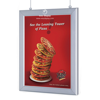 snap frame slim light box, curved light box, led panel