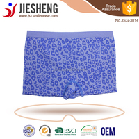 Wholesale mens boxer shorts dot printing seamless boxer briefs Shantou Factory