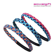 New Design Fashion Adjustable Elastic Printed Hair Band Manufacturer