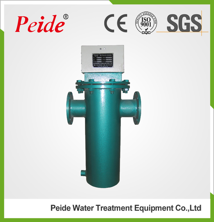 High frequency electronic circulating water descaler