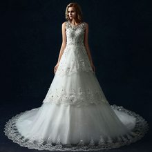 Top quality top sell women fluffy wedding dresses