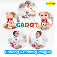 2015 Cute baby dancing singing & learning animals toys