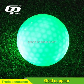 Hot Sell luminons golf ball high-quality match golf balls purple golf ball
